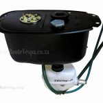 Fuel tank with oil pump for Classic Vespa Body Work and Parts