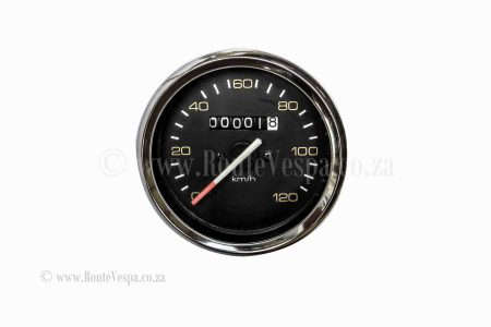 Speedometer 120 km/h without Logo for Classic Vespa Chassis and Parts