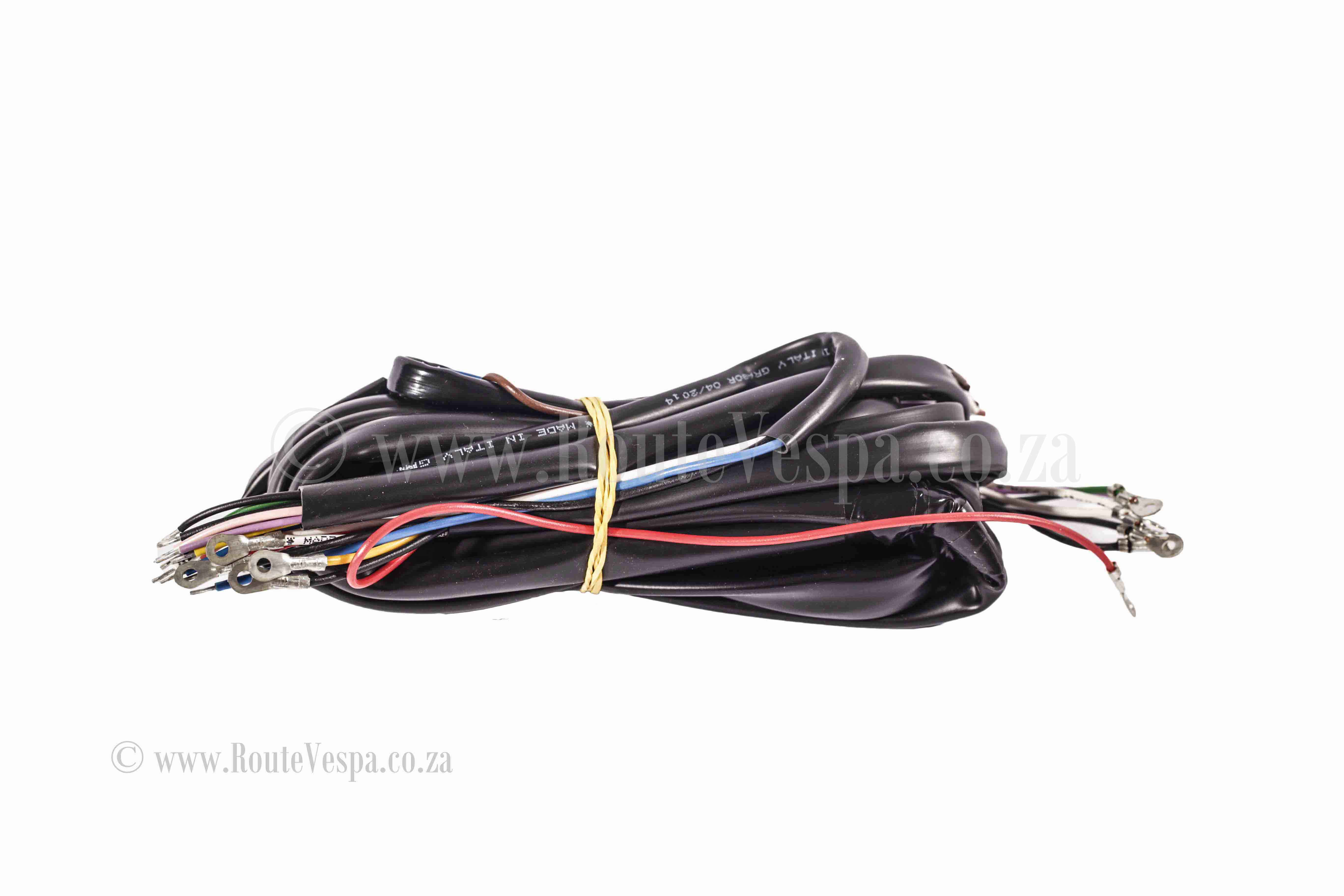 Wiring Harness 160 Gs Route Vespa System For Classic Electrical And Parts