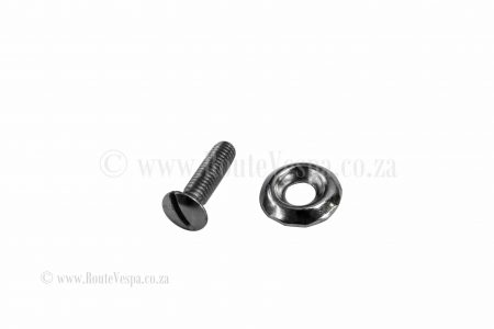 Screw M4x16 mm (raised head) for Classic Vespa Hardware and Parts