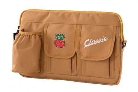 Bag SIP for Vespa Glovebox (nylon) (light brown) Vespa Chassis Part